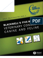 5 Minute Veterinary Consult Canine and Feline