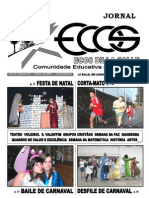 Jornal Ecos 07-08 2.º Período - Capa