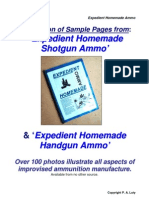 Homemade Ammo Sample Pages