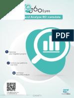 360eyes datasheet for SAP BusinessObjects