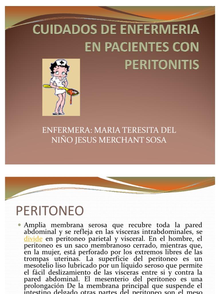 Cuidados de enfermeria en pacientes con peritonitis - Cuidados de las hortensias ...