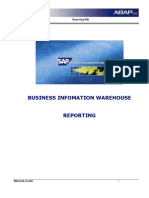 BW - Manual Reporting