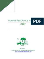 H.R. Manual