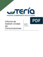 Informe Unidad de Comunicaciones2011