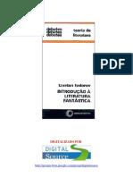 TZVETAN TODOROV-Introducão à literatura Fantástica (pdf)(rev)