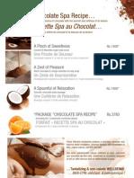 Spa Chocolat Promotion Veranda Paul Et Virginie