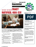 Local 1488 newsletter, May 2011