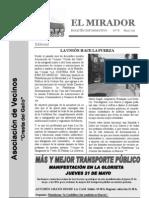 El Mirador - Boletín 8 (Mayo 2009)