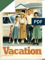Vacation '58 Short Story Basis for National Lampoon's Vacation