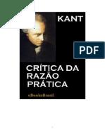 Kant - Crítica da Razão Prática (PDF-Livro)