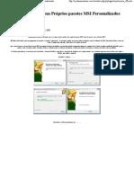 WinXp - Criando seus Próprios pacotes MSI Personalizados