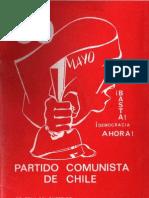 Boletín del Exterior Partido Comunista de Chile Nº59