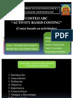 Costeo ABC - Modiicado 2