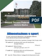 Alimentazione UEFA a Corso Spec 11