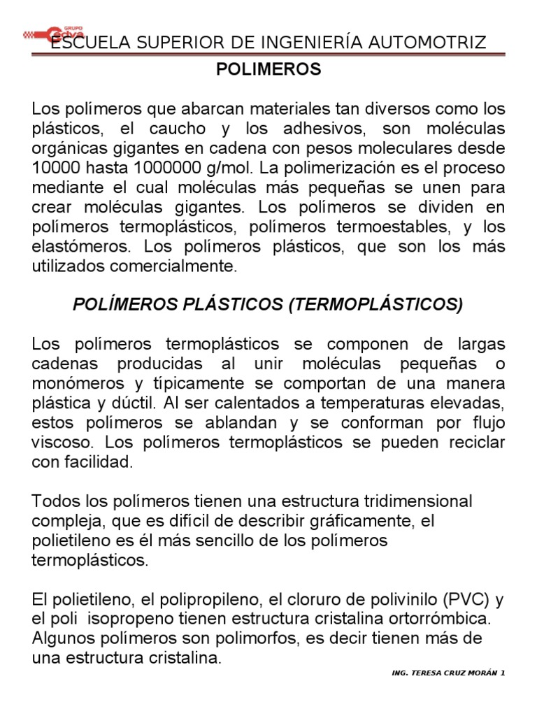 Polímeros 1