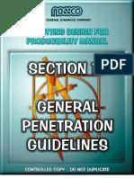 General Penetration Guidelines