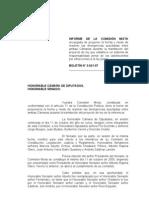 3021-07 Informe de La Comisin MIXTA