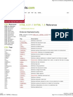 HTML 4.01 _ Xhtml 1.0 Reference
