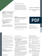 UHC Vision Plan Summary