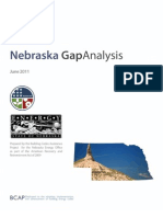 Nebraska Gap Analysis Report