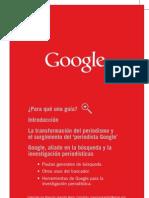 Google Periodistas Guia