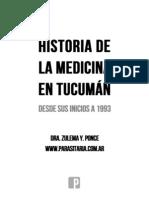 Historia de la Medicina en Tucumán