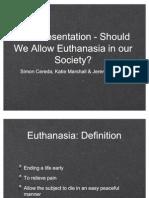 Euthanasia ToK