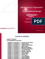 IBMMO409FT ion & Design Week 8