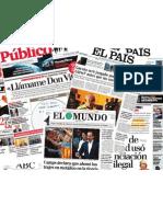 periódicos corrupción