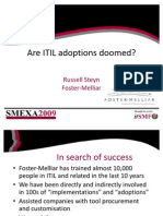 Are ITIL Adoptions Doomed Russell Steyn