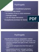 Hydrogels (2)
