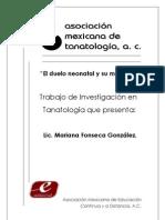 034 El Duelo Neonatal y Su Manejo