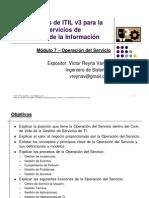 07. Operación del Servicio