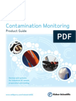 Contamination Monitoring Product Guide