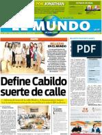 Portada El Mundo de Orizaba 30-06-11