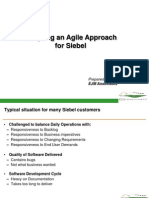 Agile for Siebel