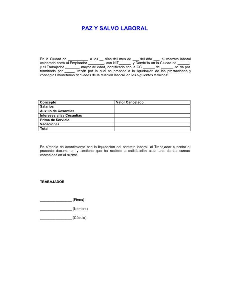 modelos de contrato indefinido pdf free