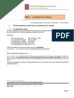 Guía para prueba de nivel 3º medio. materia del primer sem. (aplicada en agosto)