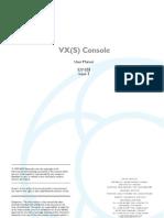 VX User Manual