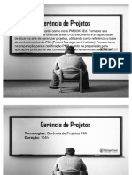 T@rgetTrust - Gerência de Projetos - Gerência de Projetos - Preparatório Certificação PMP