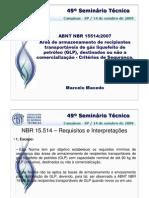 Nbr15514_central de Gas