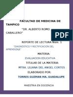Diagnostico y Rectificacion Del Apdzje.