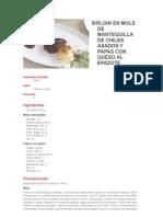 compilacion de recetas