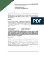 2009 Fideicomiso de Administración de Gastos Previos