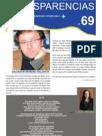Revista Transparencias.  Antonio Torres Tripiana.