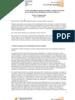 Tópicos de pesquisa sobre metodologia de projeto em design…