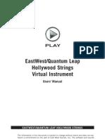 Hollywood Strings Manual