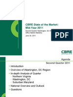 CBRE DC State of the Market Mid-Year 2011 Presentation
