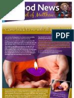 e-Good News issue 3b - Lent