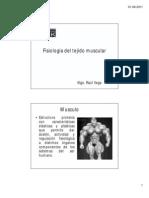 Fisiologia Del Tejido Muscular